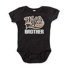 Worlds Best Brother Baby Bodysuit