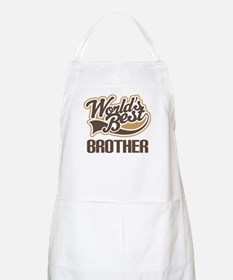 Worlds Best Brother Apron