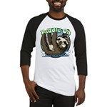 Paddle On...here in a minute Sloth Baseball Jersey
