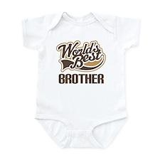 Worlds Best Brother Infant Bodysuit