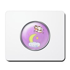 The Cow Jumped Over The Moon Mousepad