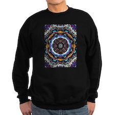 Reflective Fractal Mandala Sweatshirt