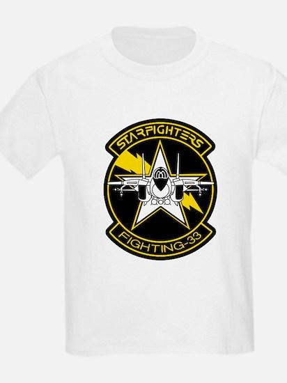 VF-33 Starfighters Kids T-Shirt