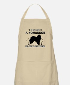 My Komondor is more than a best friend Apron