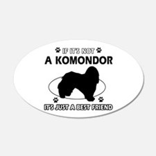 My Komondor is more than a best friend Wall Decal