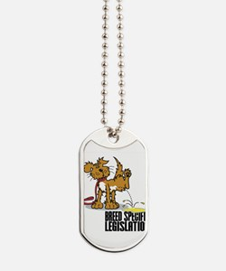 Piss On BSL Dog Tags