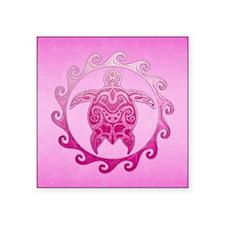 Maori Pink Honu Sticker