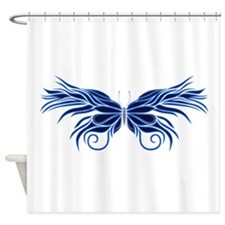 Elegant Butterfly Shower Curtain