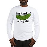 Big dill Long Sleeve T-shirts
