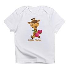 Little Sister Giraffe Infant T-Shirt