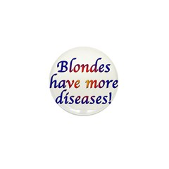 Blonde Diseases Mini Button (100 pack)