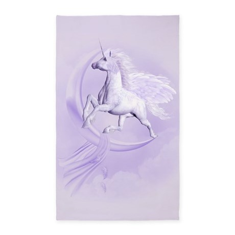 Flying Pegasus 3'x5' Area Rug