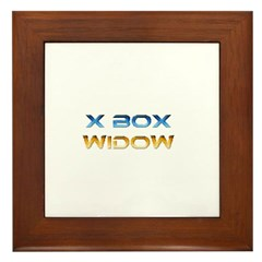 Xbox Widow Framed Tile