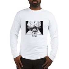 Knitting - Therapy Long Sleeve T-Shirt