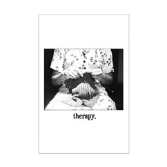 Knitting - Therapy Posters