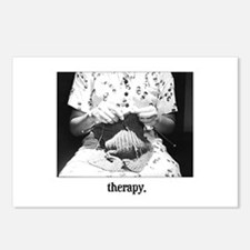 Knitting - Therapy Postcards (Package of 8)