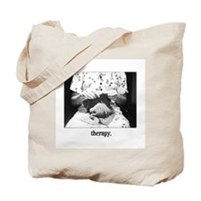 Knitting - Therapy Tote Bag