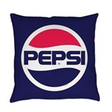 Pepsi Burlap Pillows