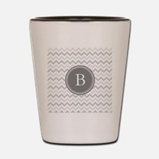 Shades of Grey Monogram Shot Glass