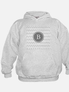 Shades of Grey Monogram Hoody