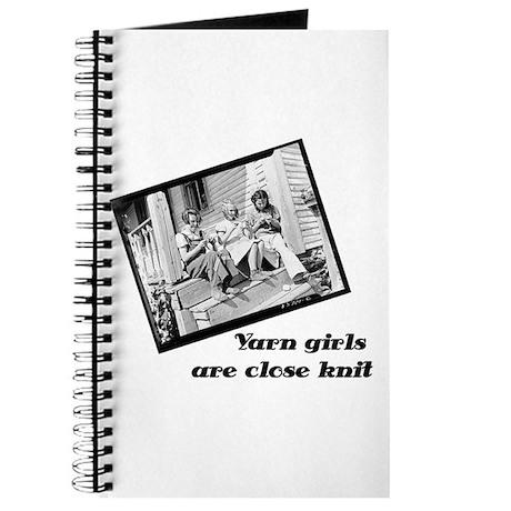 Yarn Girls are Close Knit Journal