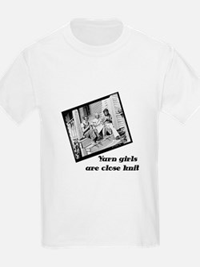 Yarn Girls are Close Knit Kids T-Shirt