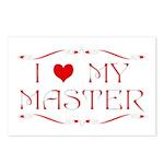 'I Love My Master' Postcards (8 pk)
