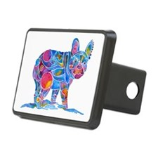 French Bulldog Love Hitch Cover