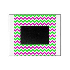 Pink and Green Chevron Picture Frame