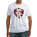 Lovey Cat Fitted T-Shirt