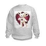 Lovey Cat Kids Sweatshirt