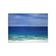 Beautiful Beach 5'x7'Area Rug