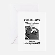 Before Knitting Was Cool Greeting Cards (Package o