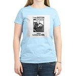 Before Knitting Was Cool Women's Pink T-Shirt