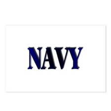 Navy Postcards (Package of 8)