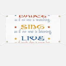Dance Sing Live Banner