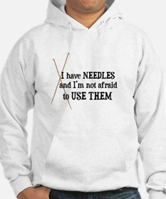 Knitting - I Have Needles Hoodie