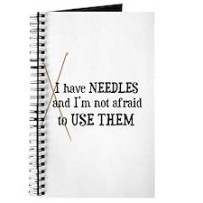 Knitting - I Have Needles Journal