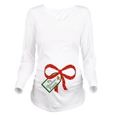 My Christmas Miracle Long Sleeve Maternity T-Shirt