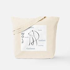 Wolf Totem Tote Bag