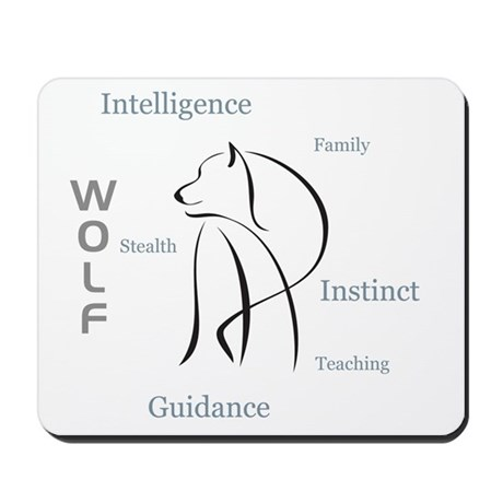 Wolf Totem Mousepad