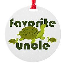 Favorite Uncle Ornament