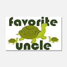 Favorite Uncle Car Magnet 20 x 12