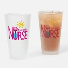Trust Me Im A Nurse Drinking Glass