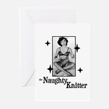 The Naughty Knitter Greeting Cards (Pk of 10)