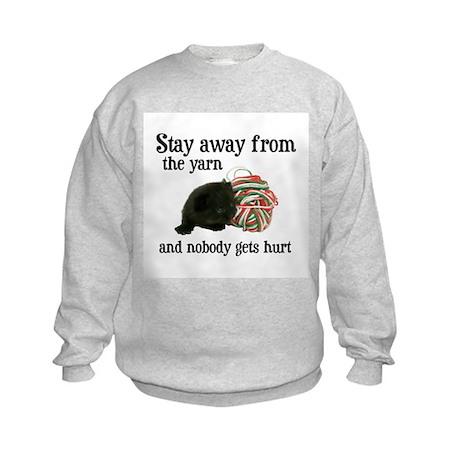 Stay Away From The Yarn Kids Sweatshirt