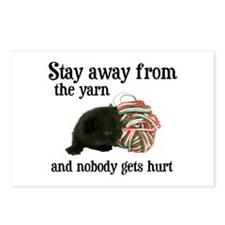Stay Away From The Yarn Postcards (Package of 8)