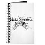 Make Sweaters Not War - Knit Journal