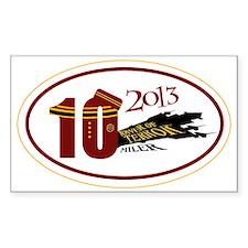 TOT 10 Miler 2013 Decal