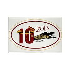TOT 10 Miler 2013 Rectangle Magnet